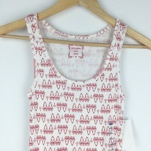 Old Navy Tops - 3/$15 Old Navy Size S Owl Printed Rib Tank Top
